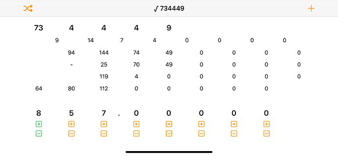 sqrt(734449)