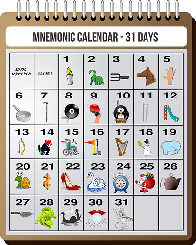 Mnemonic-Calendar-31-Days-ErolOzvatan
