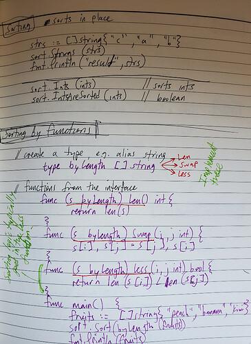 Golang notes