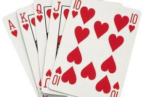 Speed Kartenspiel Mit Normalen Karten