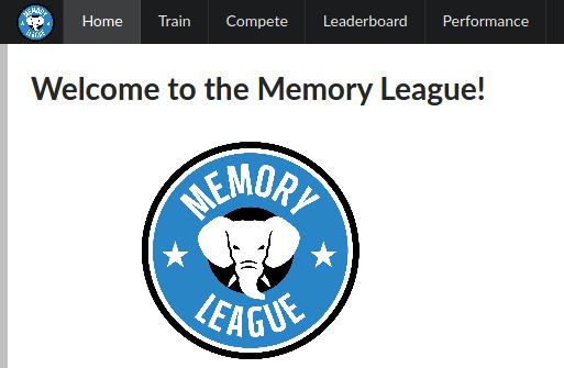 Memory League screenshot